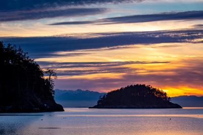 Photographing Puget Sound - Deception Pass Bowman Bay