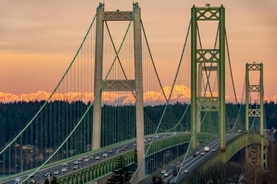Puget Sound photography locations - Tacoma Narrows Bridge