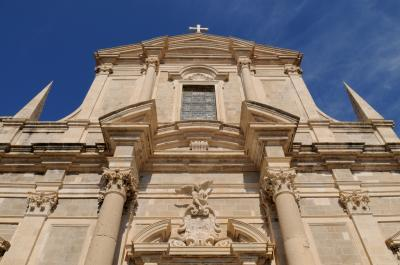 images of Dubrovnik - St Ignatius Jesuit Church