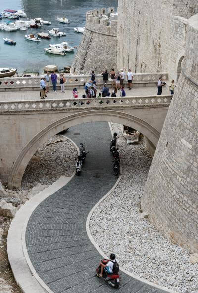 photos of Dubrovnik - Ploče Bridge View