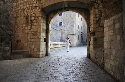 pictures of Dubrovnik - St Dominic Street