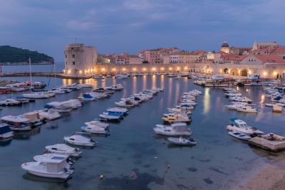 images of Dubrovnik - Old Harbour View