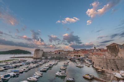 pictures of Dubrovnik - Old Harbour View