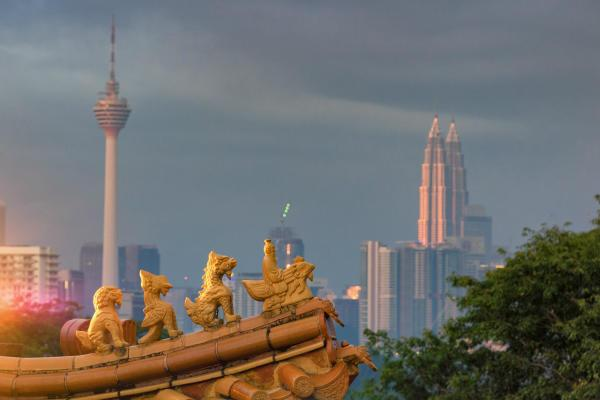 images of Kuala Lumpur - Thean Hou Temple