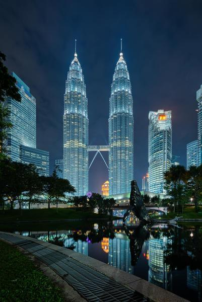 pictures of Kuala Lumpur - KLCC Park