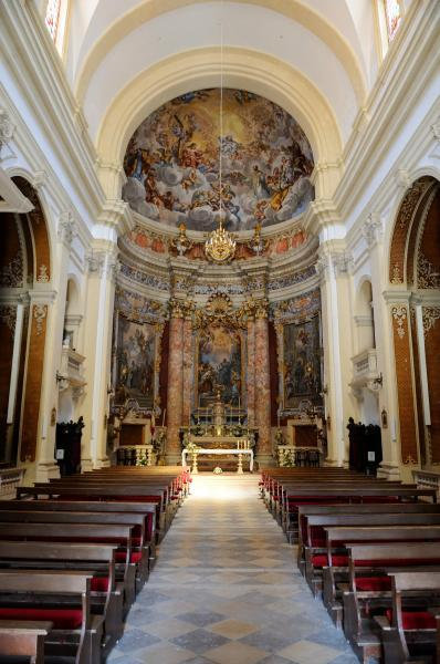 pictures of Dubrovnik - St Ignatius Jesuit Church