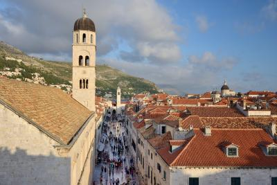 photos of Dubrovnik - City Walls Stradun View