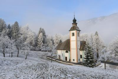 Triglav National Park photography locations - Church of the Holy Spirit