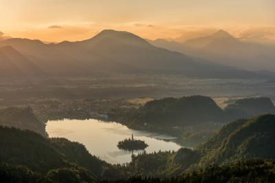 Lakes Bled & Bohinj photography spots - Lake Bled from Gače Viewpoint
