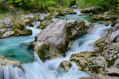 pictures of Triglav National Park - Mostnica River