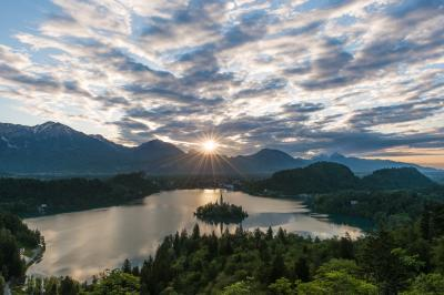 images of Lakes Bled & Bohinj - Ojstrica viewpoint