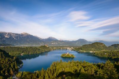 pictures of Lakes Bled & Bohinj - Ojstrica viewpoint