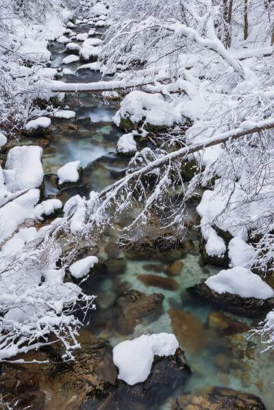 pictures of Triglav National Park - Radovna river