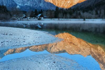 photography spots in Triglav National Park - Savica river mouth