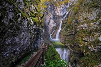 photo locations in Triglav National Park - Savica Waterfall