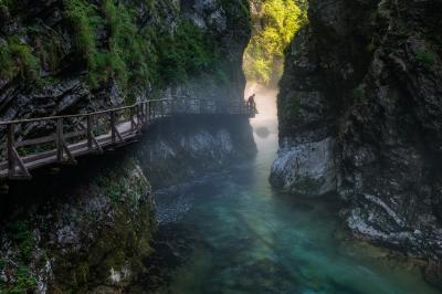 Triglav National Park photography spots - Vintgar Gorge