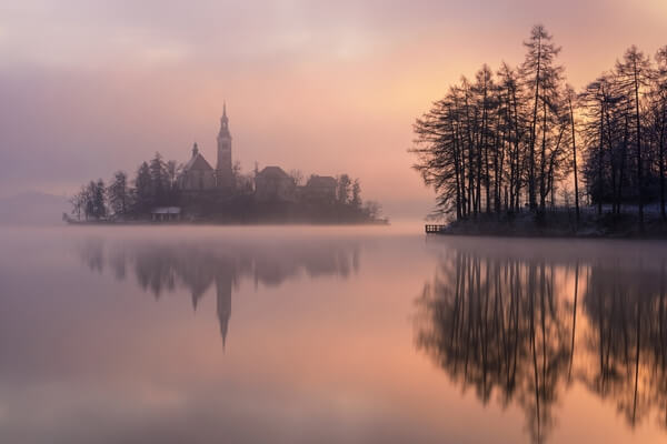 most Instagrammable places in Lakes Bled & Bohinj