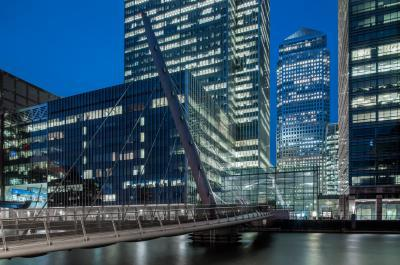 images of London - South Dock - Heron Quays