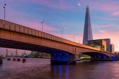 photos of London - View of The Shard from London Bridge