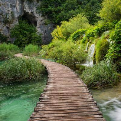 Plitvice Lakes National Park photo guide - Kaluđerovac Boardwalk
