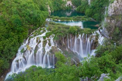 Plitvice Lakes National Park photo locations - Sastavci Falls