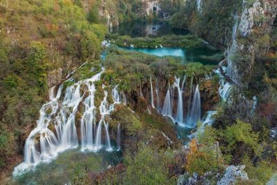 pictures of Plitvice Lakes NP - Sastavci Falls