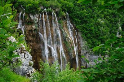 Photographing Plitvice Lakes National Park - Veliki Slap Upper View