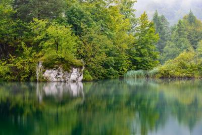 photography locations in Plitvice Lakes NP - Burget Lake