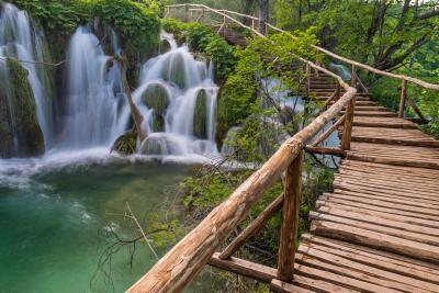 photo locations in Plitvice Lakes NP - Burget Boardwalk