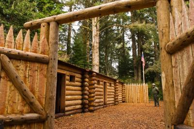 Oregon Coast photo guide - Fort Clatsop National Memorial