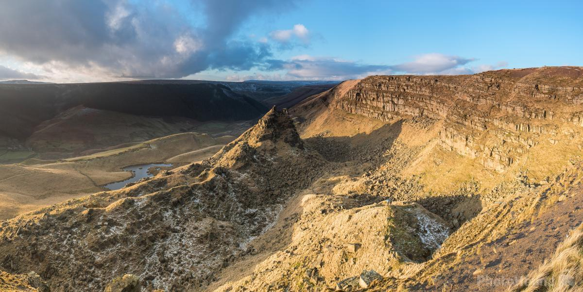 Alport Castles Panoramic