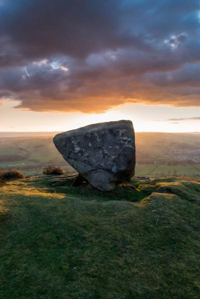 Derbyshire photography spots - Baslow Edge