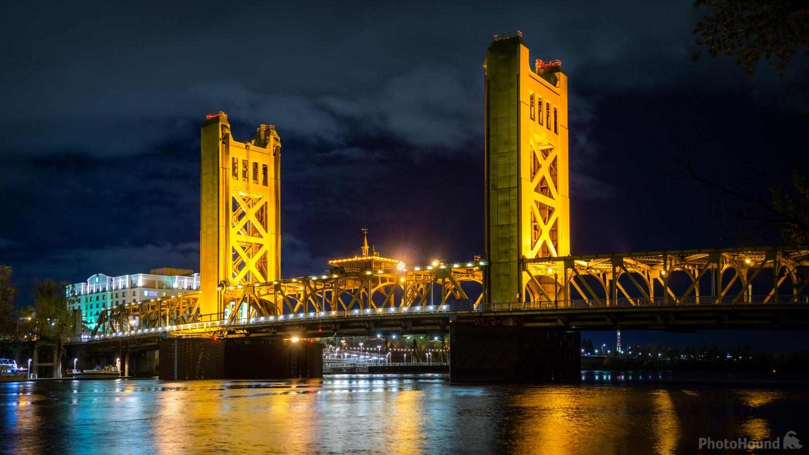 The Iconic Tower Bridge in west Sacramento