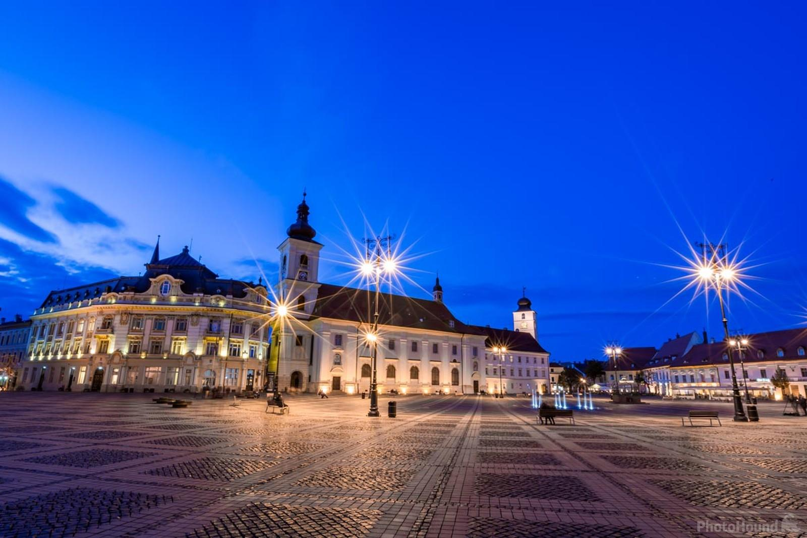 Sibiu is probably the most beautiful city in Romania.